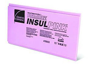 Owens Corning rigid board insulation