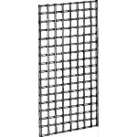 chrome gridwall panel