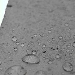 concrete sealer leaves water beading