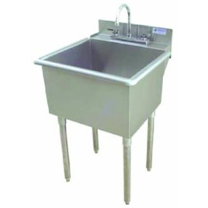 stainless steel slop sink
