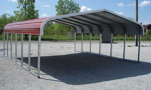 Portable Metal Carports Kits : Portable carport benefits types and costs garage triage
